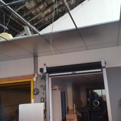 Création de plafond sur rails