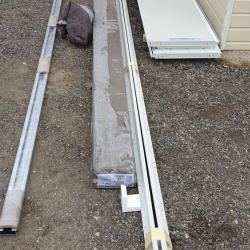 Pose d'une porte de garage automatique