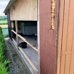 Pose et rénovation d'une porte de garage à Guimerville