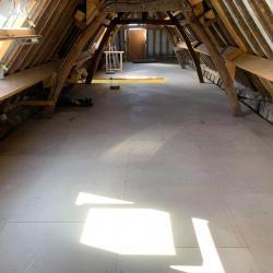 Solivage pose plancher bois plaquistes seine maritime 11